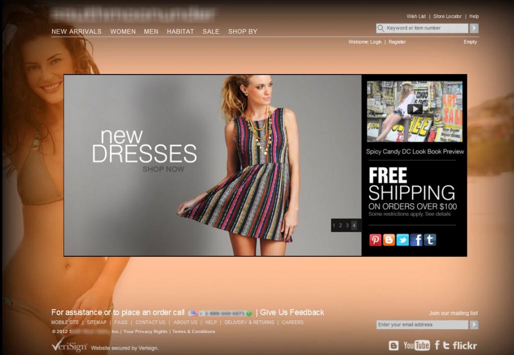 Company Home Page