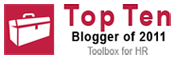 Top Blogger Toolbox for HR 2011