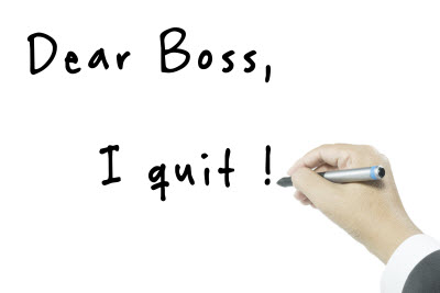 quit job employee turnover